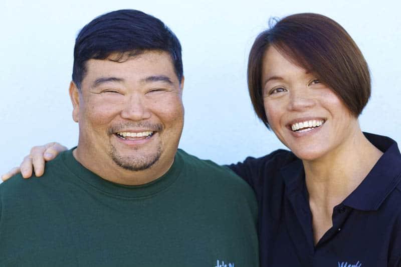Chefs Mark & Wendy Oyama